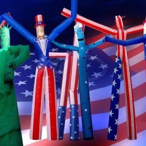 H - July 4th - American