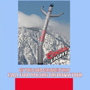 Coors Light Airpuppet