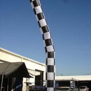20' Checkerboard tube