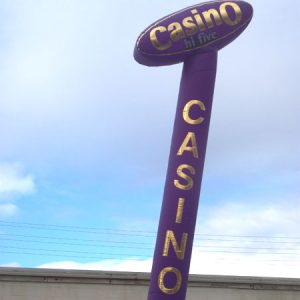Casino topper 25'