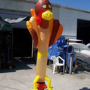 Turkey dancing inflatable Skydancer
