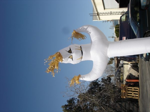 10' Fat Ghost Scarecrow