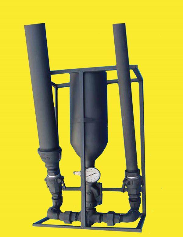 "CAC1 double barrel confetti launcher - 1"" Barrels"