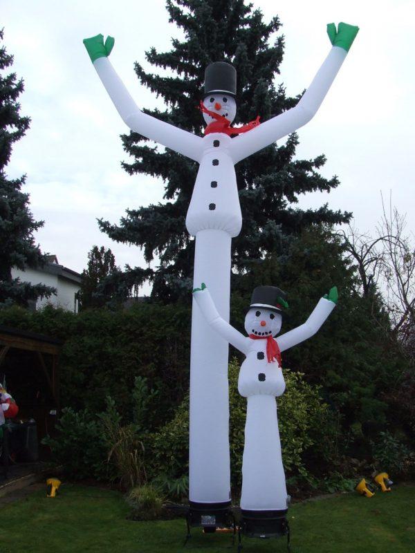 Airpuppet snowman