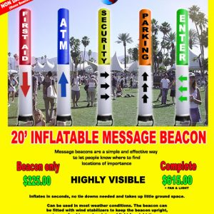 20' Inflatable BEACON
