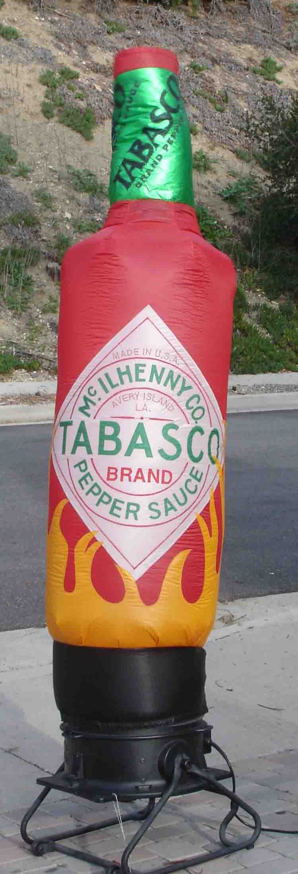 TABASCO BOTTLE CLEARANCE 8'