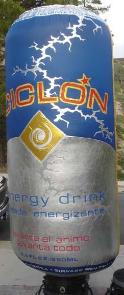 ciclon can 8'