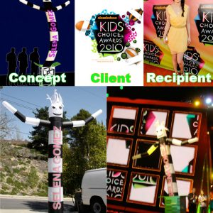 Kids Choice Awards Airpuppet