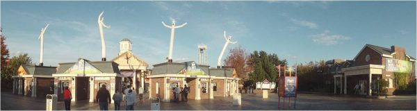 Six Flags fright fest Ghost