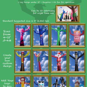 1 - Partydancers - Small designs
