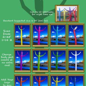 3 - Skydancer Airpuppetsô - Single leg designs