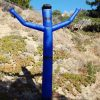 15' Blue airpuppet w/ hat